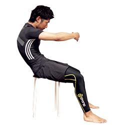 背中を丸めて、伸ばす体操|かんたんストレッチ